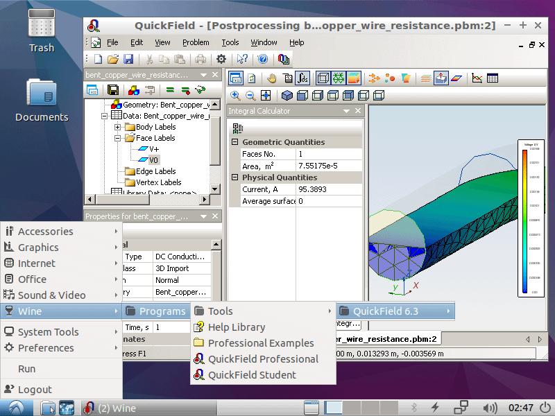 QuickField installation on Linux