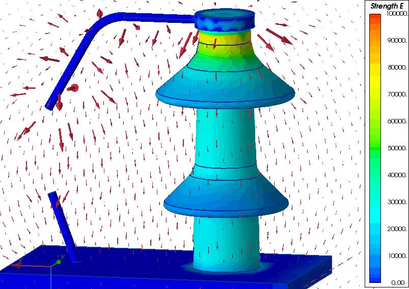 arcing horns bushing insulator
